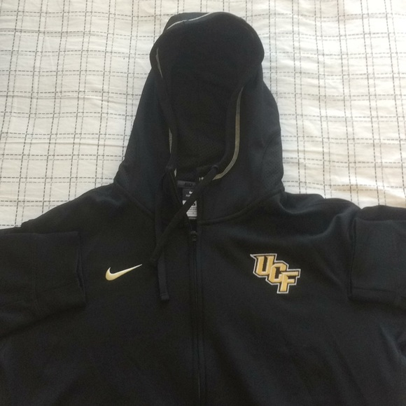 b28a578216ff UCF Nike Therma-Fit Hooded Zip Jacket -Team Issued.  M 5bfae4409539f7ce5f2ac92c
